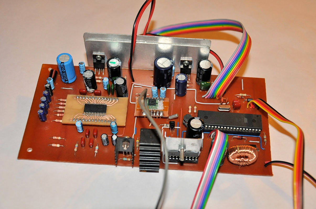 Audio Amplifier For Portable Radio Receiver Electronics Project