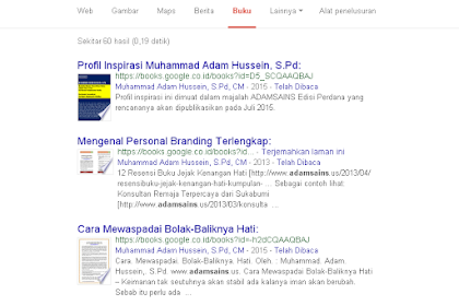 Adamsains Berjualan Buku Digital di Google Play Book Store
