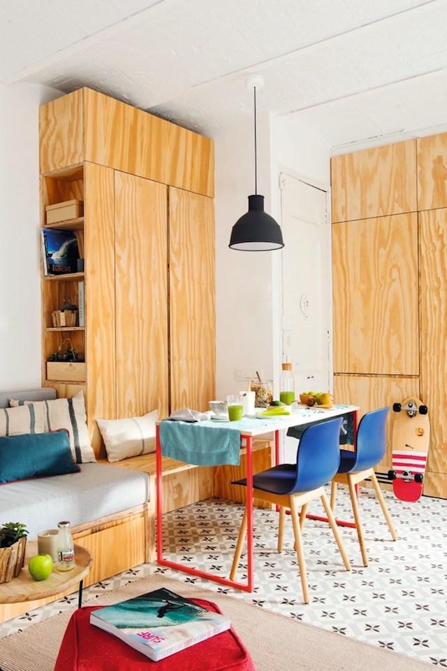 Mobiliario de madera a medida