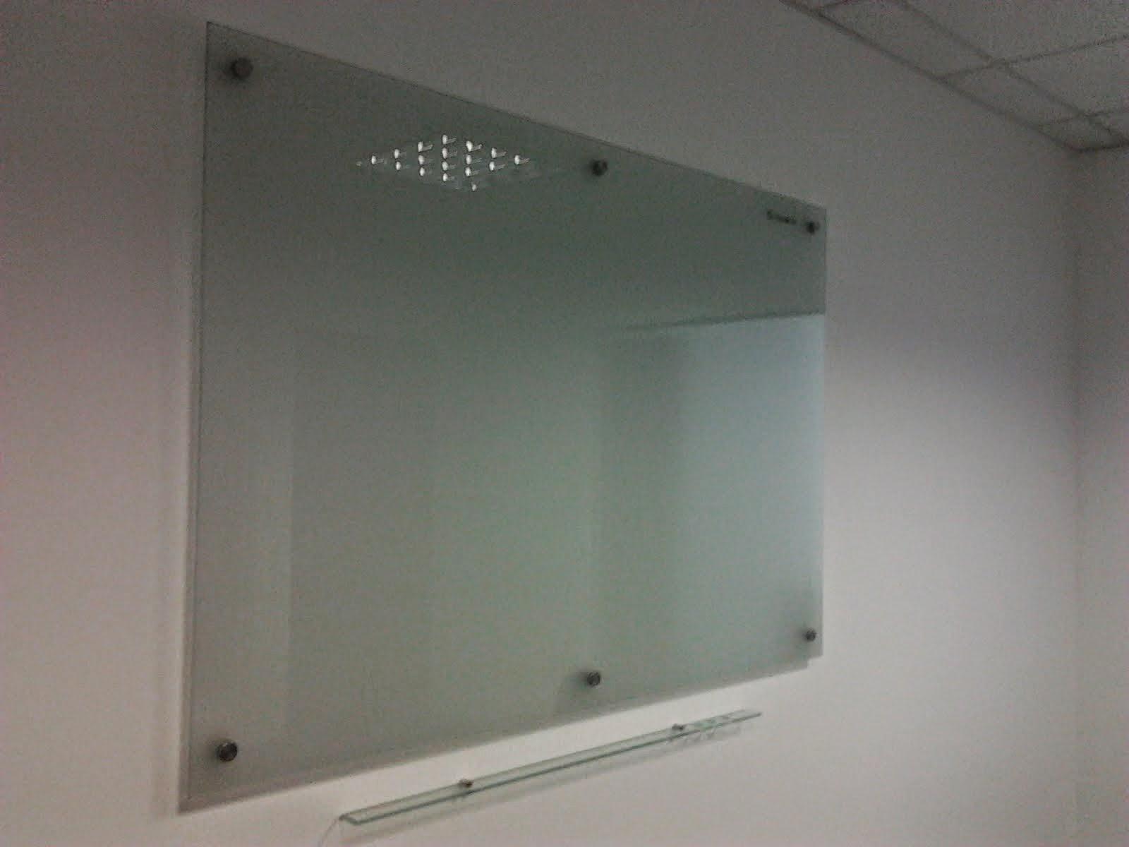 Vka publicidad s a c pizarra en vidrio de cristal - Pared de vidrio ...