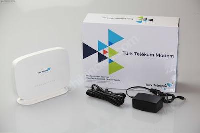 Türk Telekom TTNET modem şifresi