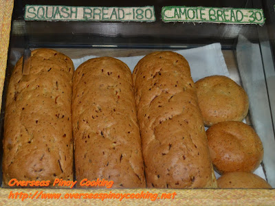 Organic Home Baked Squash Breads