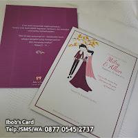 undangan pernikahan unik lucu simpel