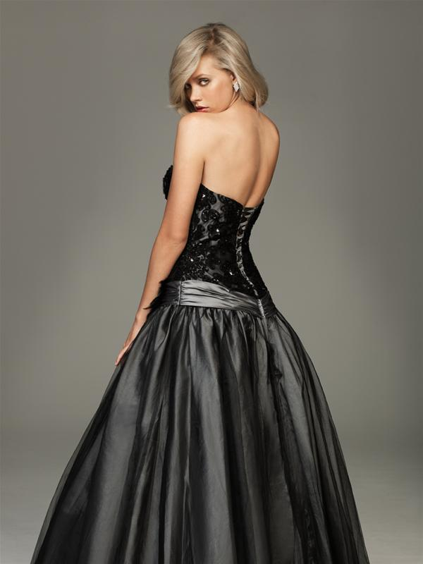 a441bba06b Vestido para Fiesta de 15 años de Color Negro   Vestidos para tu Fiesta