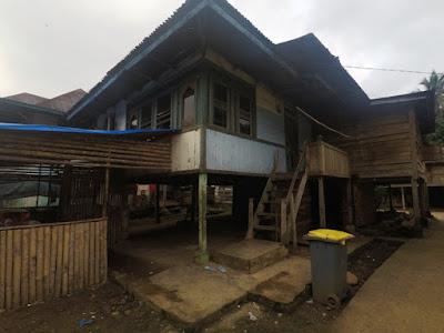 geopark merangin arung jeram rumah tradisional jambi