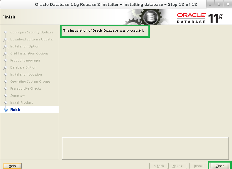 Deinstall oracle 11g linux using command line