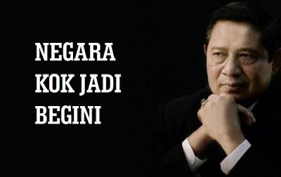 Dukung Cuitan SBY, Tagar #NegaraKokJadiBegini Jadi Trending Topic