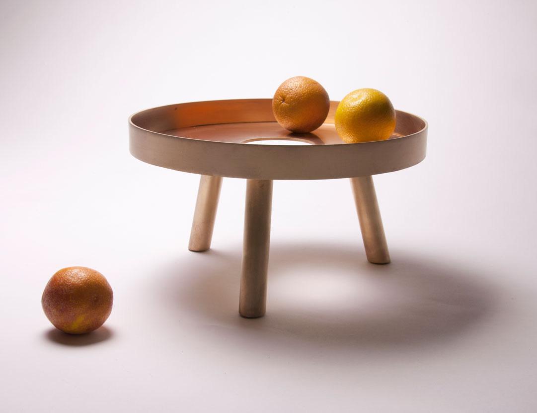 Copper Fruit Bowl Lift By Fferrone Modern Design
