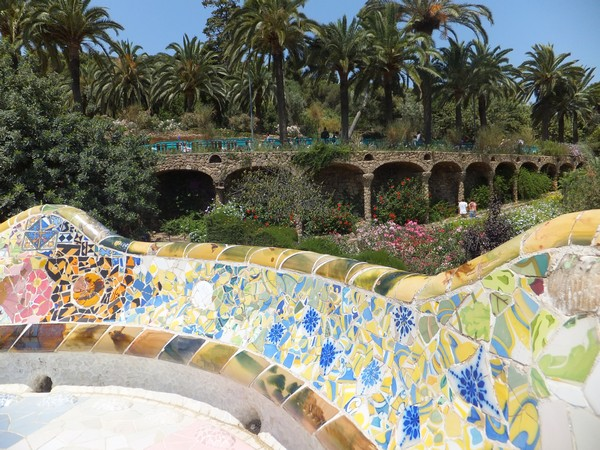 barcelone gaudi parc guell