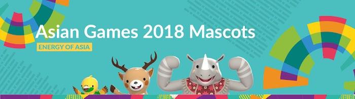 एशियन गेम्स 2018 के मस्कट