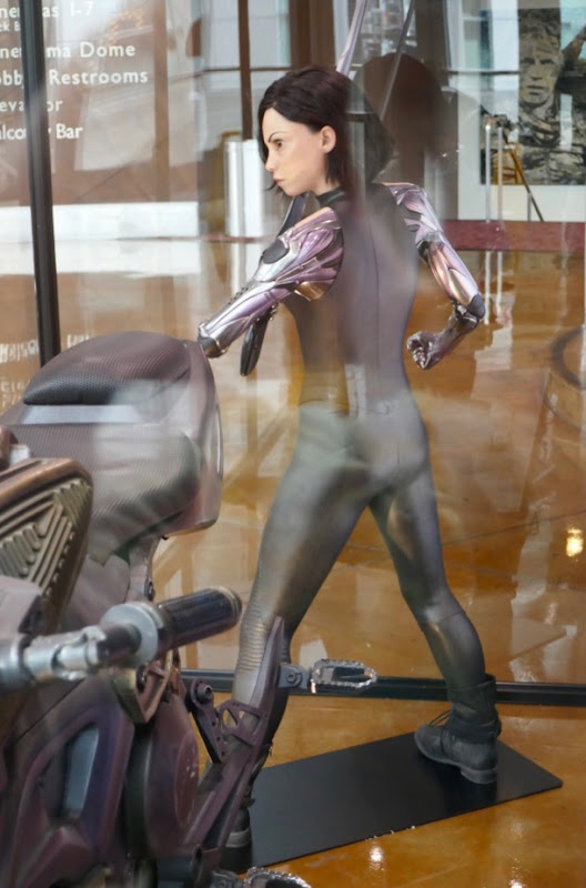 Alita Battle Angel costume back