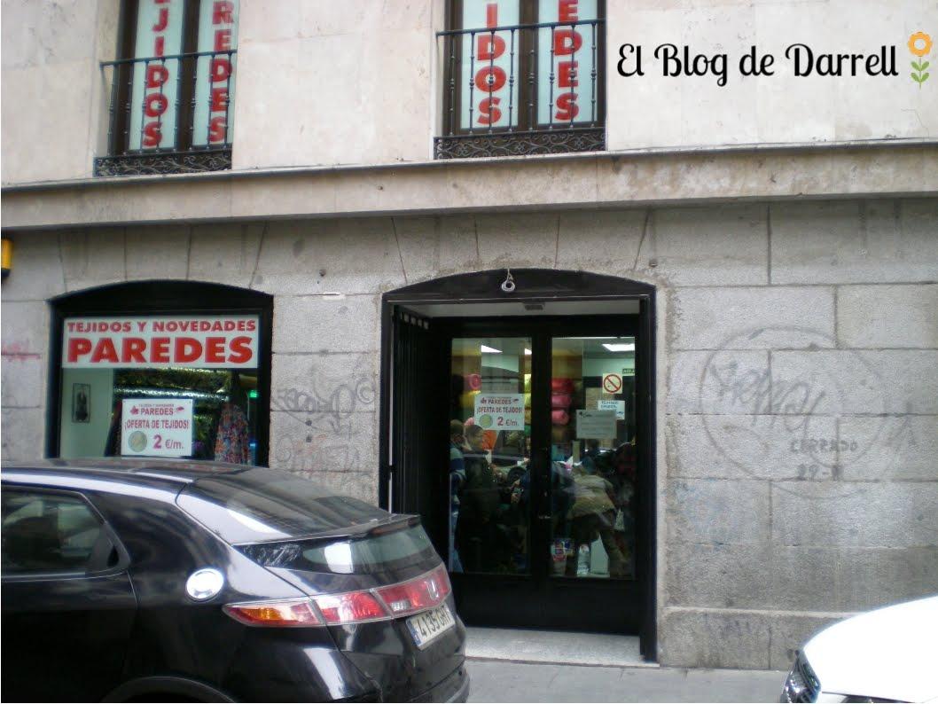 El blog de darrell outlets en el centro de madrid - Outlet de telas en madrid ...