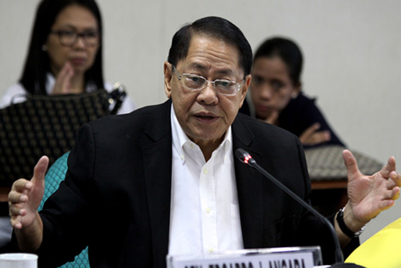 Former Senate president Edgardo Angara passes away