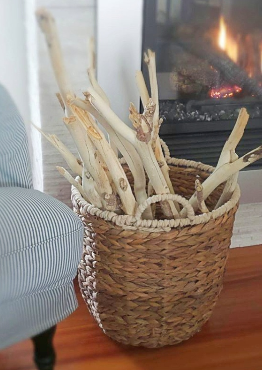 DIY Driftwood Branches Bleached Wood Sticks