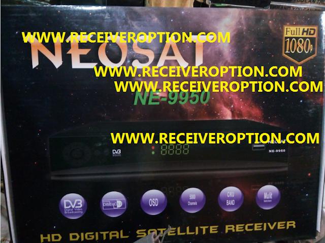 NEOSAT NE-9950 HD RECEIVER AUTO ROLL POWERVU KEY NEW SOFTWARE