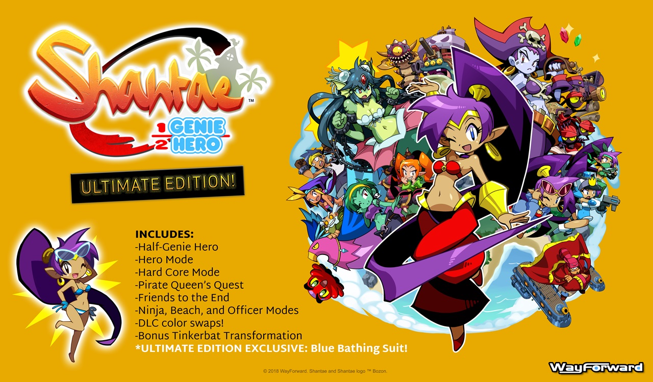 Shantae: Half-Genie Hero gets its