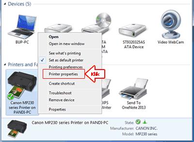 Membuka-printer-properties pada printers yang di sharing