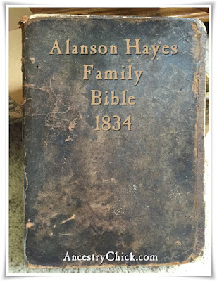 Alanson Hayes BIble