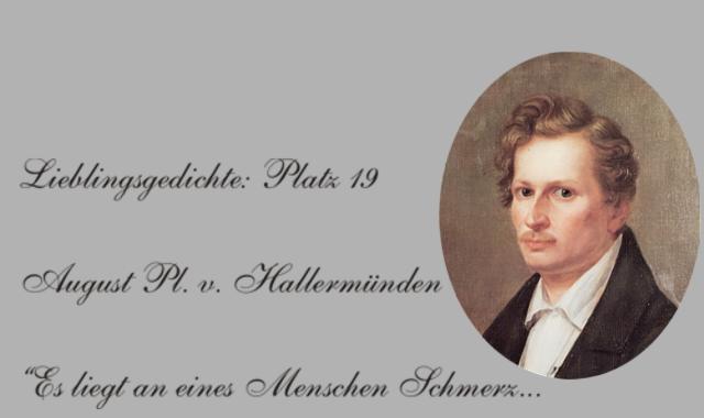 August Platen von Hallermünde