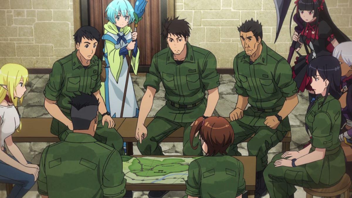gate anime season 2 episode 3 end of empire episode 9