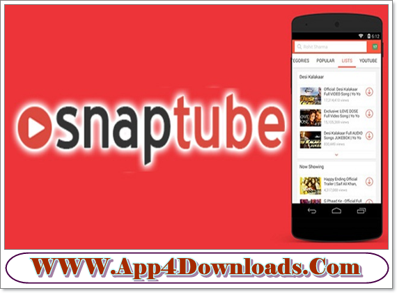 SnapTube 4.15.0.8712 Download For Android