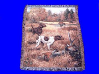German Shorthair Pointer Blanket Throw Tapestry