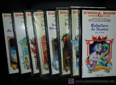 Librojuegos Dungeons and Dragons