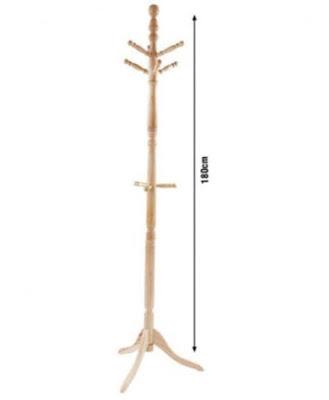 Cây treo quần áo thông minh gỗ sồi tay tròn 4