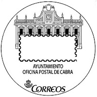 Matasellos turístico de la Oficina Postal de Cabra - 2017