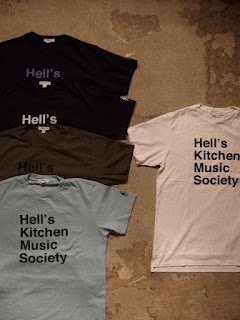 "EG WORKADAY × SUNRISE MARKET 別注 ""Hell's Kitchen Music Society Print T-Shirt"""