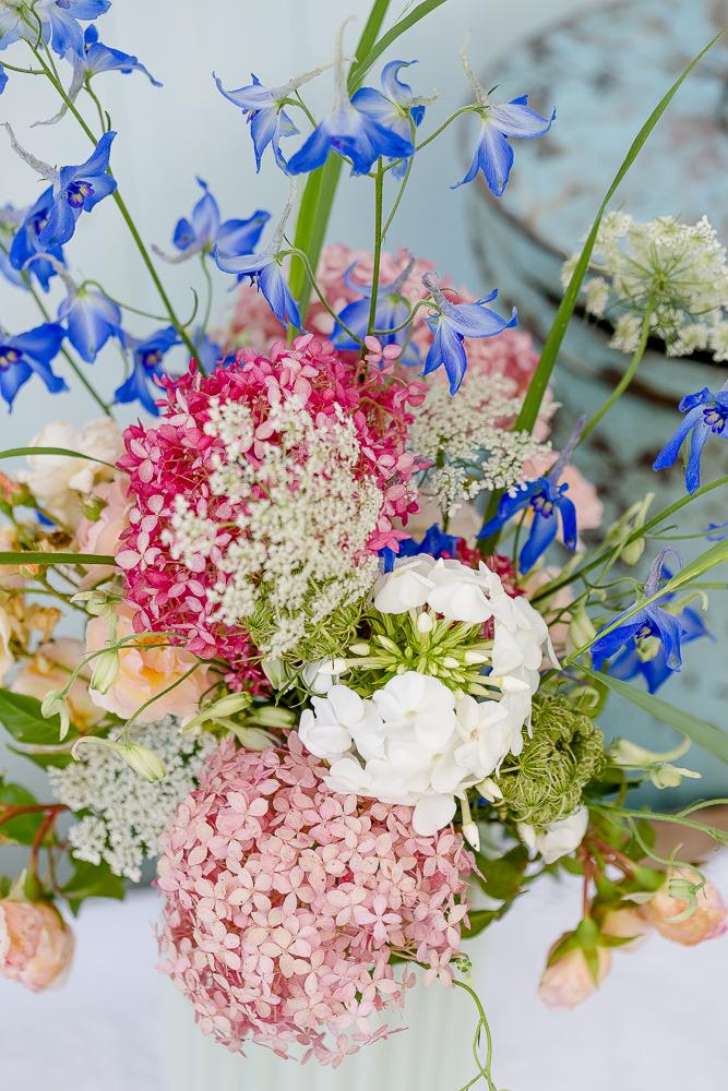 Samstagsblümchen, Pomponetti, Friday Flowerday, Sommerstrauß