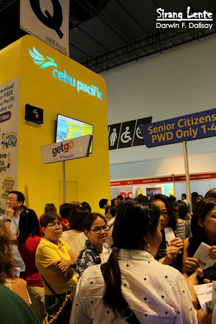 Booth of Cebu Pacific Airline