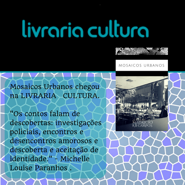 Mosaicos Urbanos está disponível na Livraria Cultura