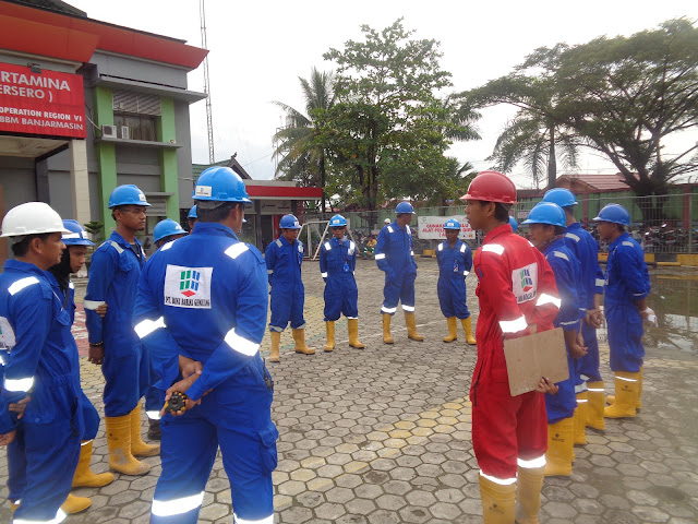 safety talk tbbm banjarmasin