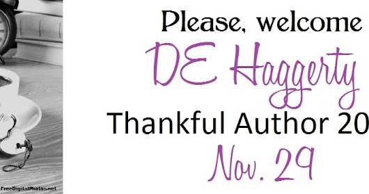 Thankful Author 2016- DE Haggerty