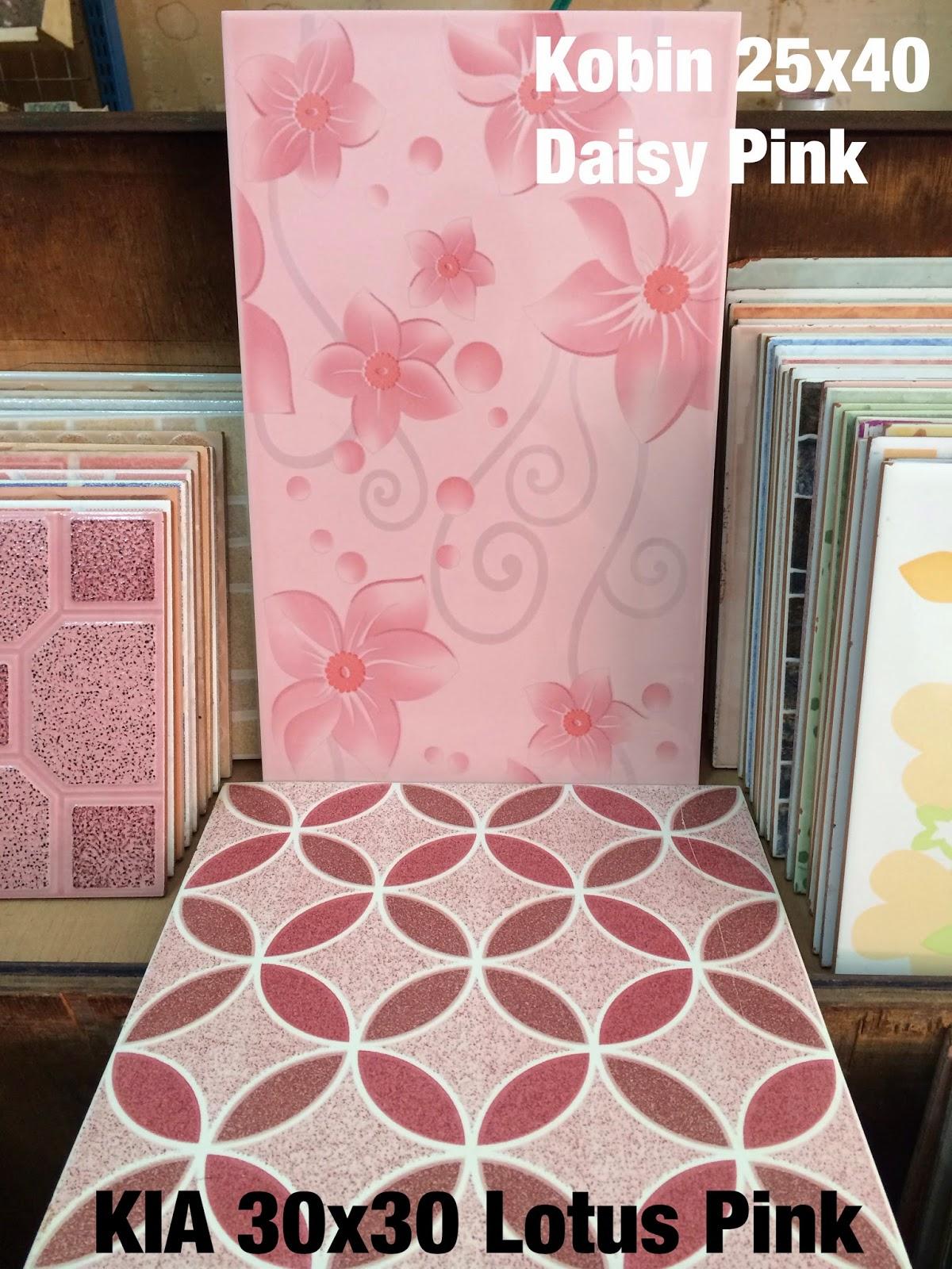 Gambar Keramik Lantai Warna Pink Terbaru | Top Rumah