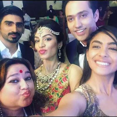 kumkum-bhagyas-shikha-singh-aka-alia-at-her-marriage-reception