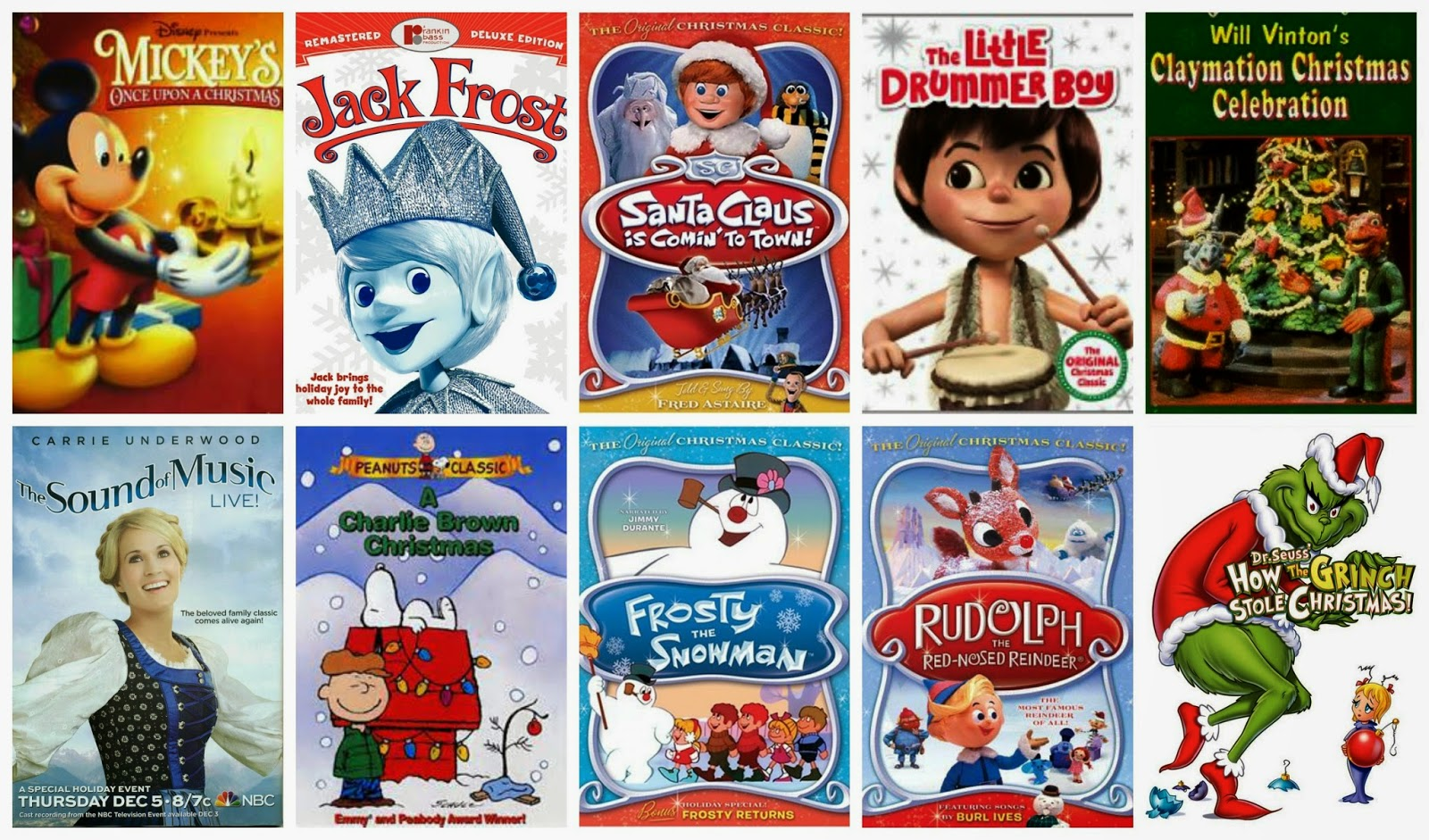 specials - Classic Christmas Cartoon Movies