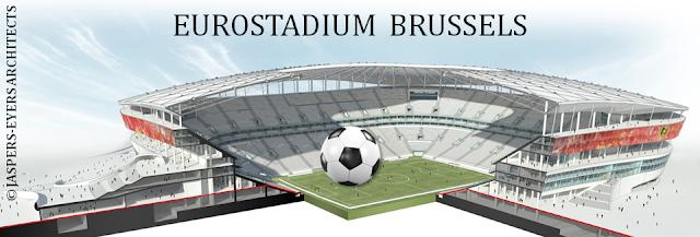EUROSTADIUM BRUSSELS - Nouveau stade national de football à Grimbergen - Suite du feuilleton rocambolesque de 2015 à...- Quand le projet est sélectionné et le candidat retenu - Bruxelles-Bruxellons