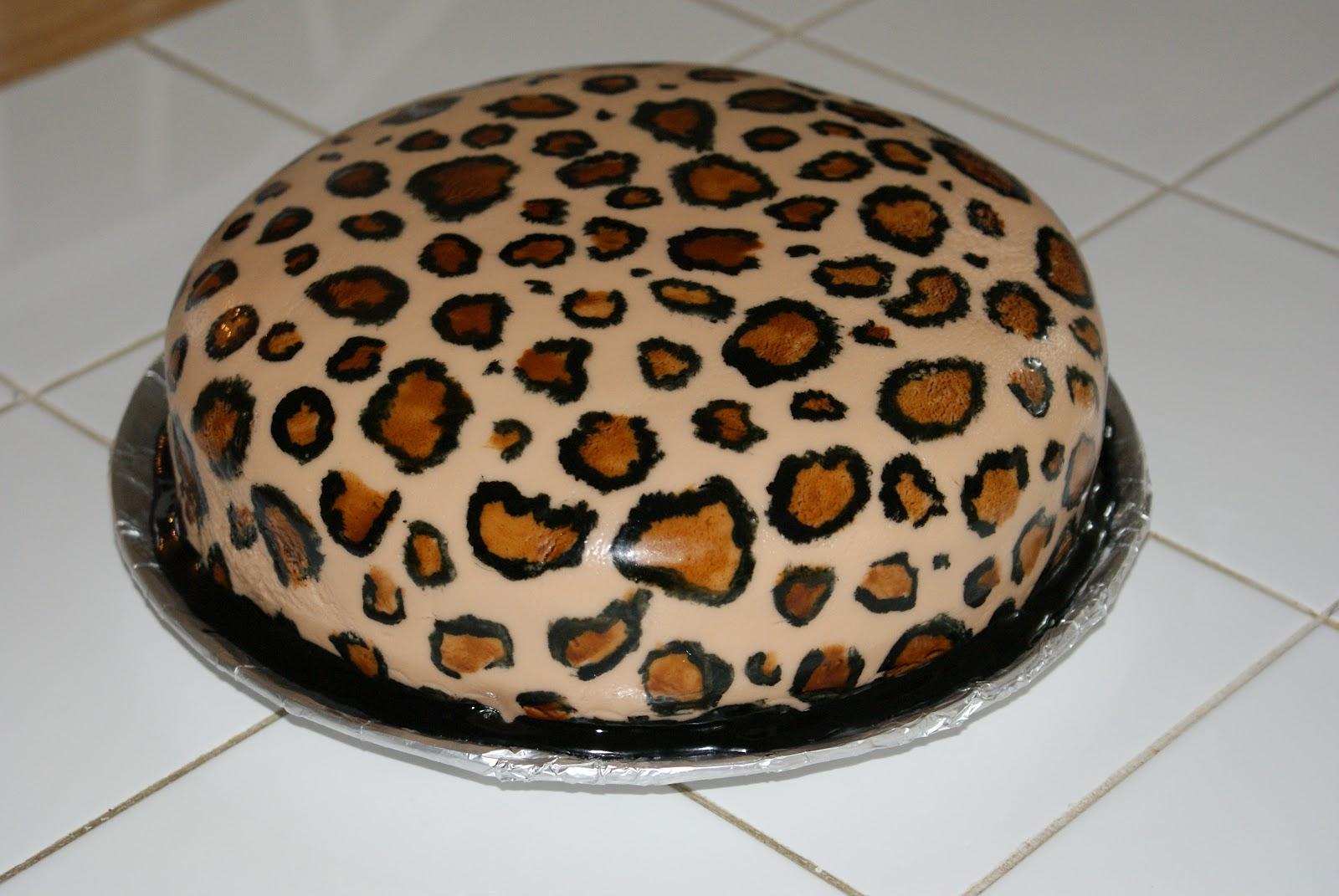 Cakes By Meg Cheetah Cake