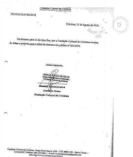 AFASC E FCC NA MIRA DE INVESTIGAÇÃO