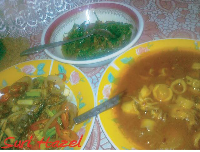 cooking  love sotong masak pedas berkuah ikan tongkol goreng berkicap kangkung goreng Resepi Nasi Goreng Sotong Kering Enak dan Mudah