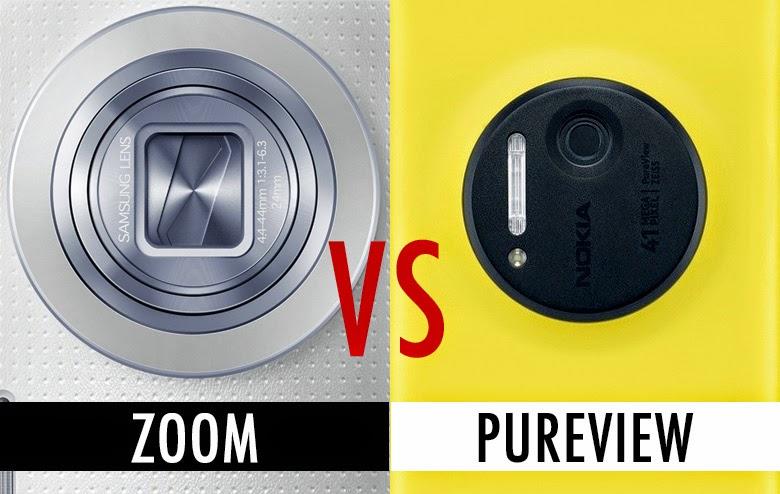 Confronto fotocamere Nokia Lumia 1020 e Galaxy K Zoom