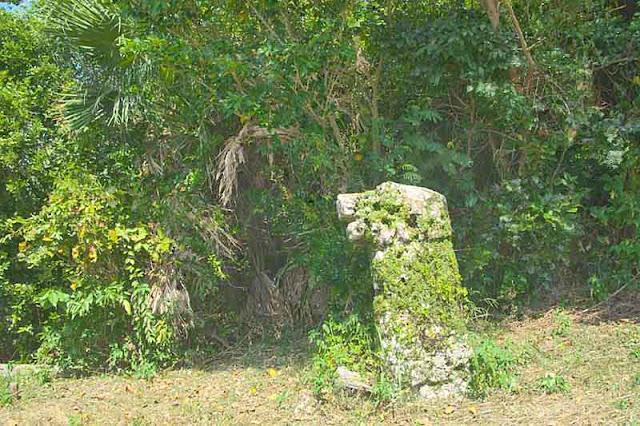 Kogusuku Nise Ishi, Nise Stone of Kogusuku, stone statue