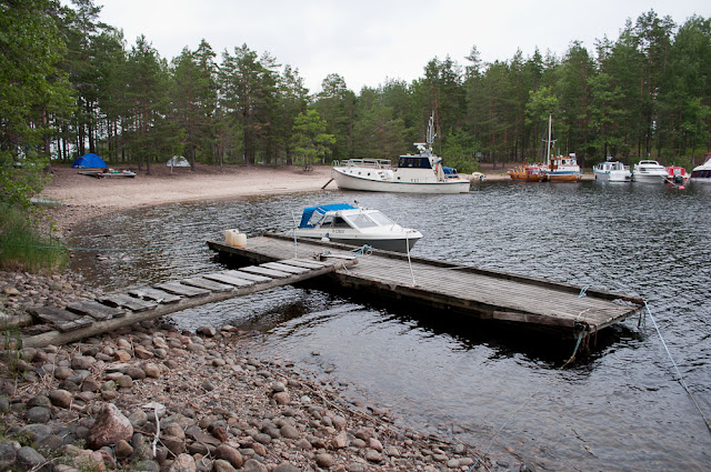 Отчёт о походе по озеру Сайма в Финляндии