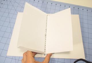 Tutorial mini álbum con estructura atada