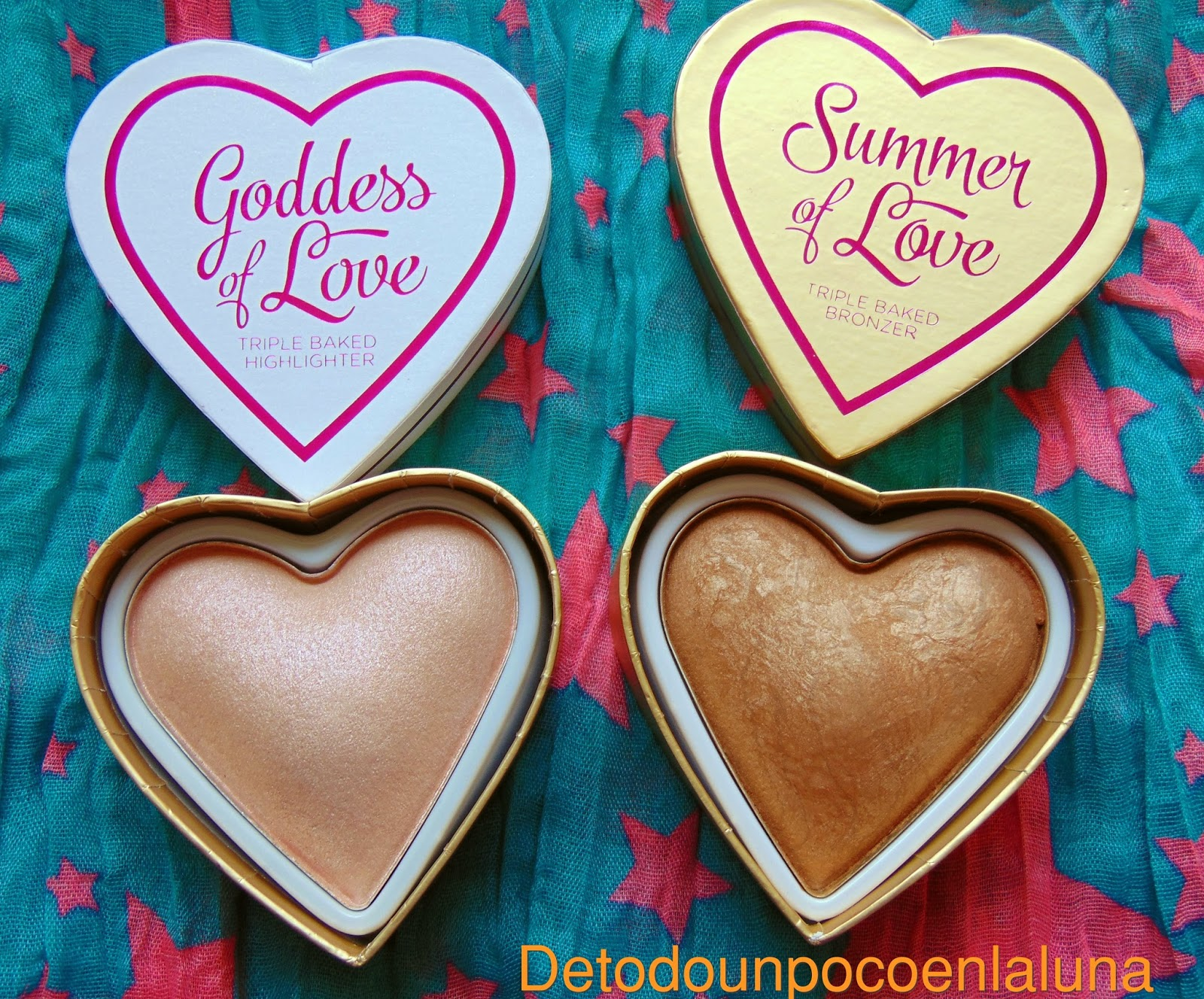 iluminador goddes of love bronceador summer of love I heart makeup