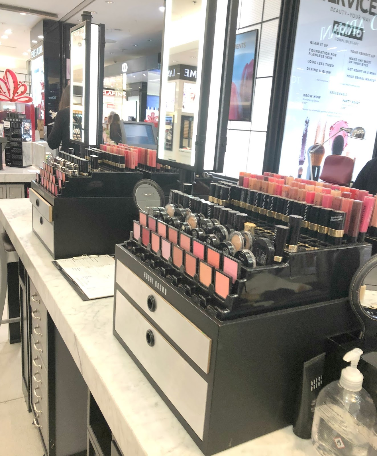 Getting Christmas Party Ready in Newcastle - Bobbi Brown
