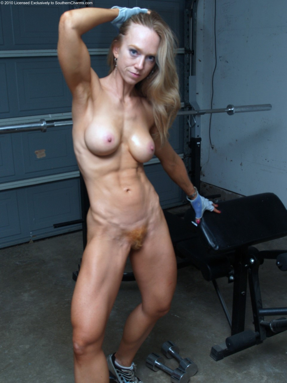 red stripe bodybuilder porn