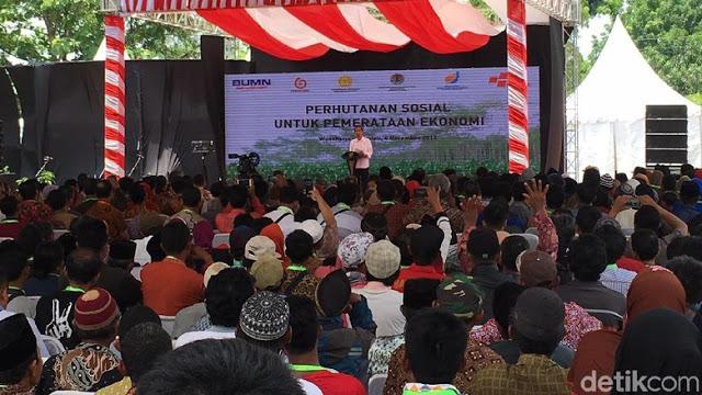 Jokowi: Rakyat Harus Kerja Keras